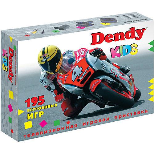 Игровая приставка Dendy Kids, 195 игр