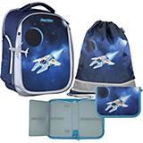 Рюкзак школьный MagTaller Ünni Spaceship,  c наполнением, 38х31х17 см