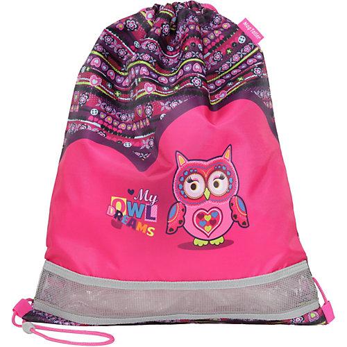 Ранец школьный MagTaller EVO Light, Owl Dreams,  c наполнением - розовый от MagTaller