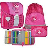 Ранец школьный MagTaller EVO Light, Ballerina Pink,  c наполнением