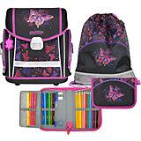 Ранец школьный MagTaller EVO, Rainbow Butterfly,  c наполнением