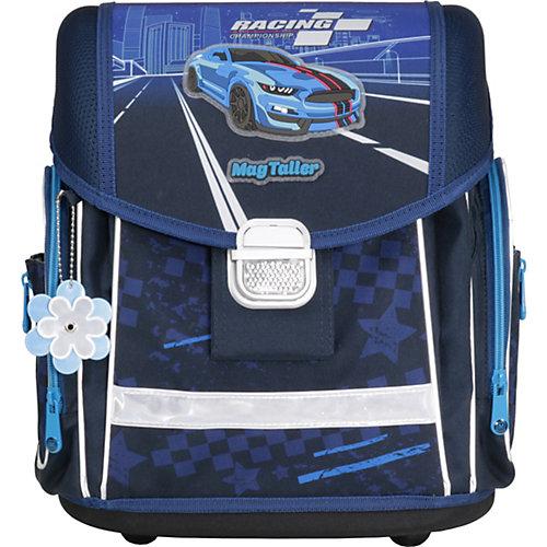 Ранец школьный MagTaller EVO, Racing blue,  c наполнением - темно-синий от MagTaller