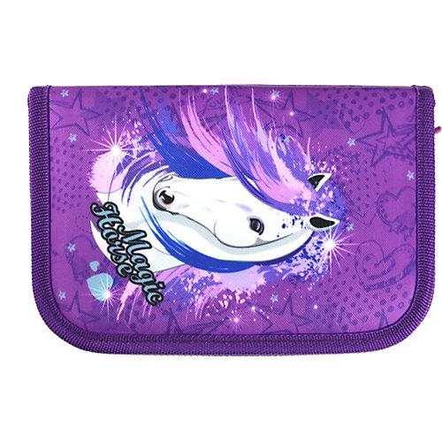 Пенал без наполнения MagTaller, Magic Horse - неоновый розовый от MagTaller