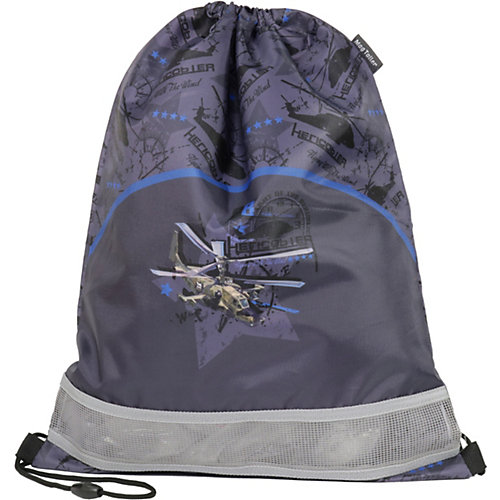 Мешок для обуви MagTaller, Helicopter - grau/schwarz от MagTaller