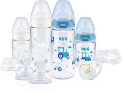 Plus NUK First Choice+ Babyflaschen mit Trinksauger Perfect Start Set