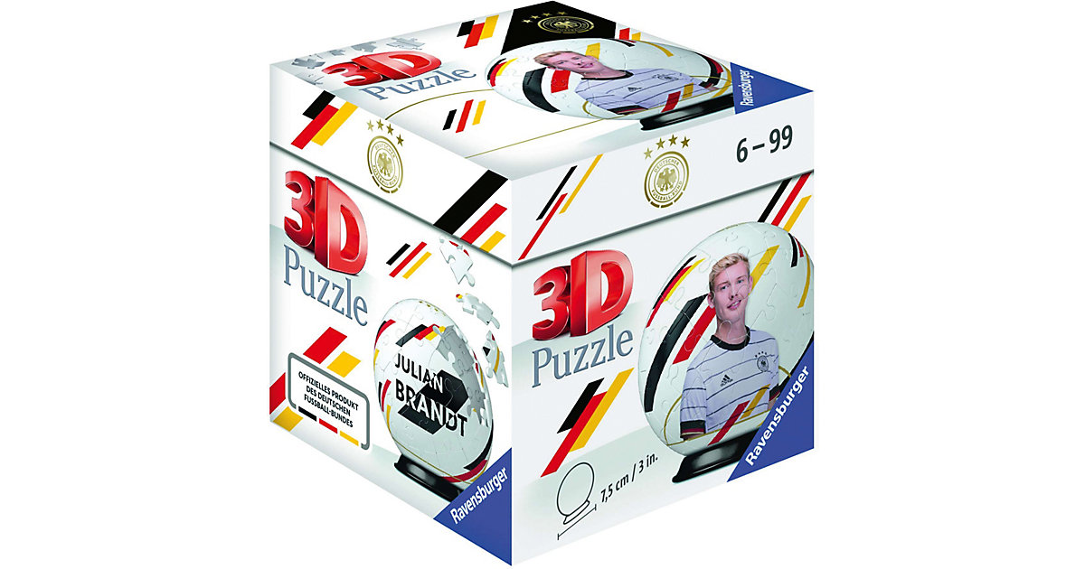Puzzle-Ball DFB Spieler Julian Brandt EM20, 54 Teile