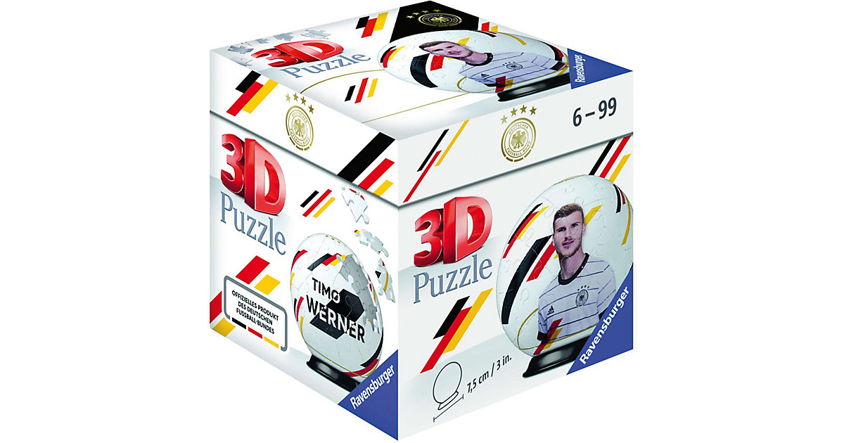 Puzzle-Ball DFB Spieler Timo Werner EM20, 54 Teile