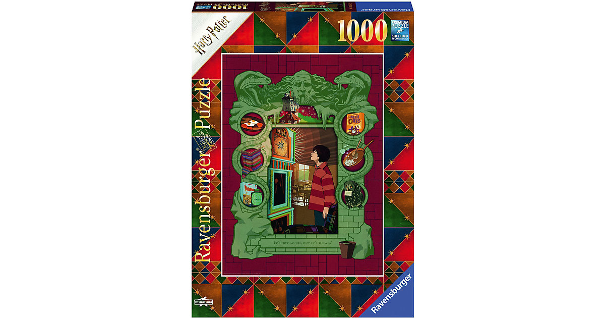 Puzzle Harry Potter bei Familie Weasley, 1.000 Teile