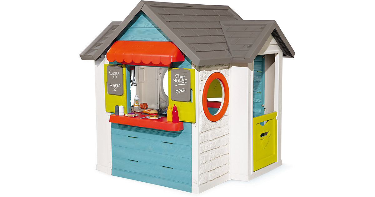 Spielhaus Chef Haus bunt