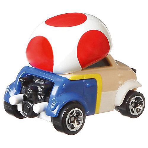Машинка Hot Wheels Super Mario Тоад, 1:64 от Mattel