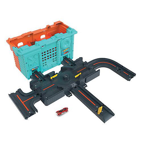 Автотрек Hot Wheels City Центральная станция от Mattel