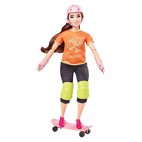 "Кукла Barbie ""Олимпийская спортсменка"" Скейтбординг от Mattel"