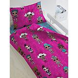Комплект постельного белья 1,5 сп LOL Surprise! Dolls, наволочки 50х70 см