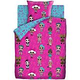 Комплект постельного белья 1,5 сп LOL Surprise! Dolls, наволочки 70х70 см