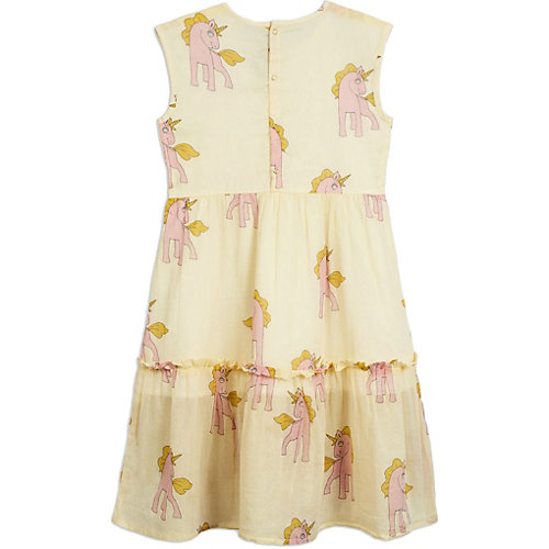 Платье Mini Rodini - желтый от Mini Rodini