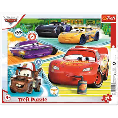 Puzzle - Good team - Disney Cars 3, 25 Teile