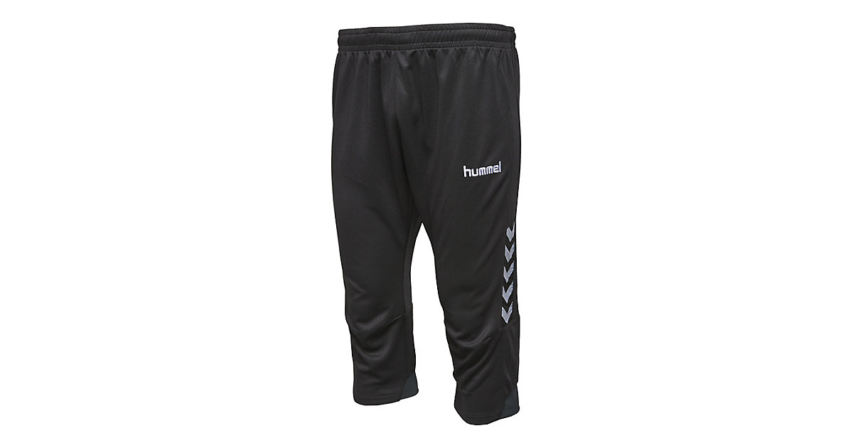 AUTH. CHARGE 3/4 PANTS Trainingshosen  schwarz Gr. 140 Jungen Kinder