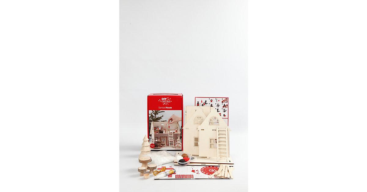Materialset Weihnachtsmann-Haus