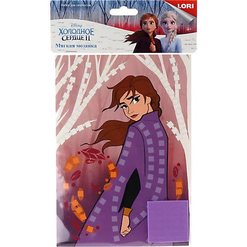 """Мозаика мягкая Lori """"Disney. Холодное сердце-2 """"Анна"""" от LORI"""