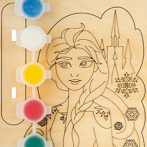 "Роспись по дереву Lori, игрушка-сувенир ""Disney. Холодное сердце-2 ""Эльза"" от LORI"