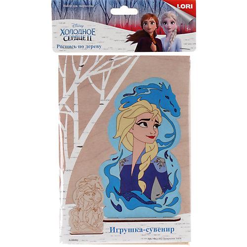 """Роспись по дереву Lori, игрушка-сувенир """"Disney. Холодное сердце-2 """"Прекрасная Эльза"""" от LORI"""