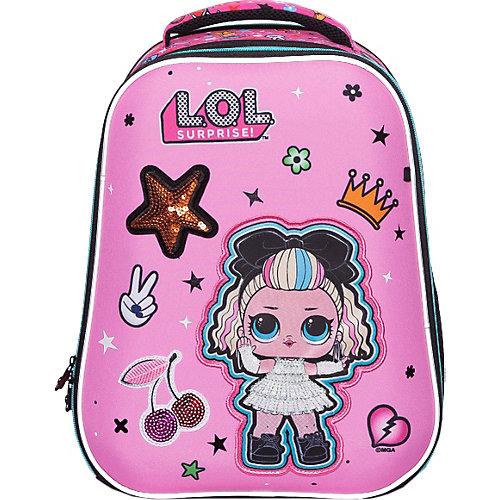 Ранец Seventeen LOL, 39х29х19 см - розовый от Seventeen