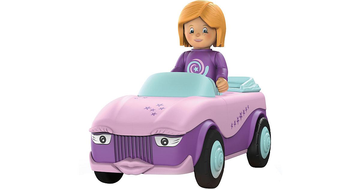 Toddys by siku 0102: Betty Blinky - Spielzeugauto rosa/lila