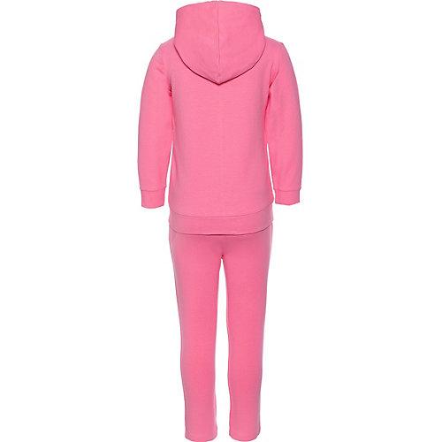 Комплект Birba: толстовка, брюки - розовый от Birba