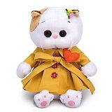 Мягкая игрушка Budi Basa Кошечка Ли-Ли Baby в плаще и с сердечком, 20 см