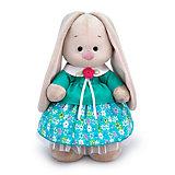 Мягкая игрушка Budi Basa Зайка Ми в бирюзовой курточке, 32 см