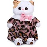 Одежда для мягкой игрушки Budi Basa Шубка из меха с леопардовым принтом, 24 см