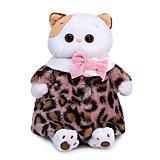 Одежда для мягкой игрушки Budi Basa Шубка из меха с леопардовым принтом, 27 см