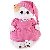 Одежда для мягкой игрушки Budi Basa Пижама в розовую полоску, 24 см