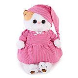 Одежда для мягкой игрушки Budi Basa Пижама в розовую полоску, 27 см