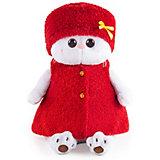 Мягкая игрушка Budi Basa Кошечка Ли-Ли в красной безрукавке и шапочке, 27 см