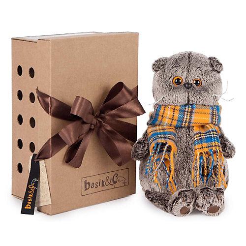 Мягкая игрушка Budi Basa Кот Басик с мухомором, 25 см от Budi Basa