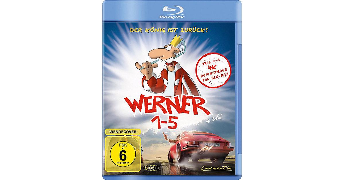 BLU-RAY Werner 1-5 Königbox Hörbuch