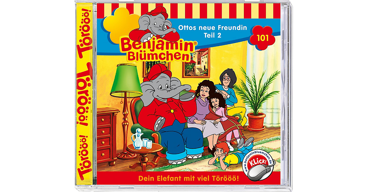CD Benjamin Blümchen 101 (Otto's neue Freundin 02) Hörbuch