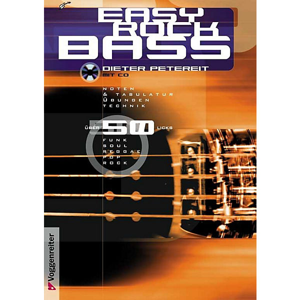 Easy Rock Bass, m. CD-Audio