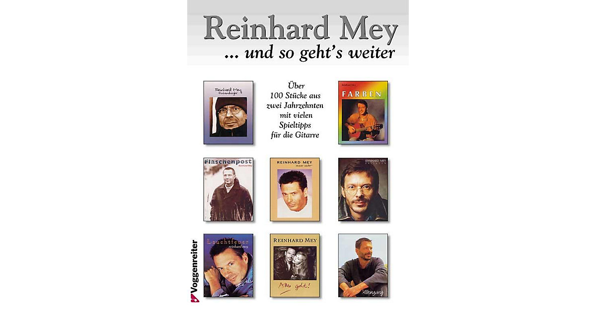 Buch - Reinhard Mey: ... und so geht´s weiter
