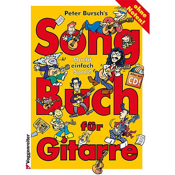 Peter Bursch& 039;s Songbuch für Gitarre, m. Audio-CD, Peter Bursch