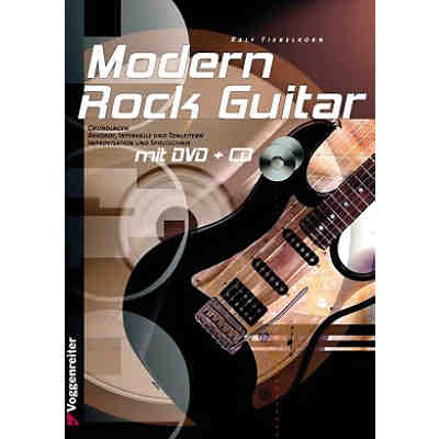 Modern Rock-Guitar, m. Audio-CD u. DVD-Video