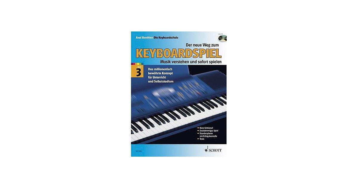 Der neue Weg zum Keyboardspiel, Bd.3 m. Audio-CD