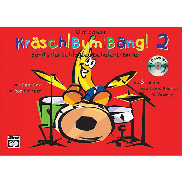 Kräsch! Bum! Bäng!, Bd. 2 m. Audio-CD, Olaf Satzer