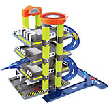 Игровой набор Mochtoys Гараж с машинкой, 4 уровня
