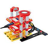Игровой набор Mochtoys Гараж с машинкой, 3 уровня