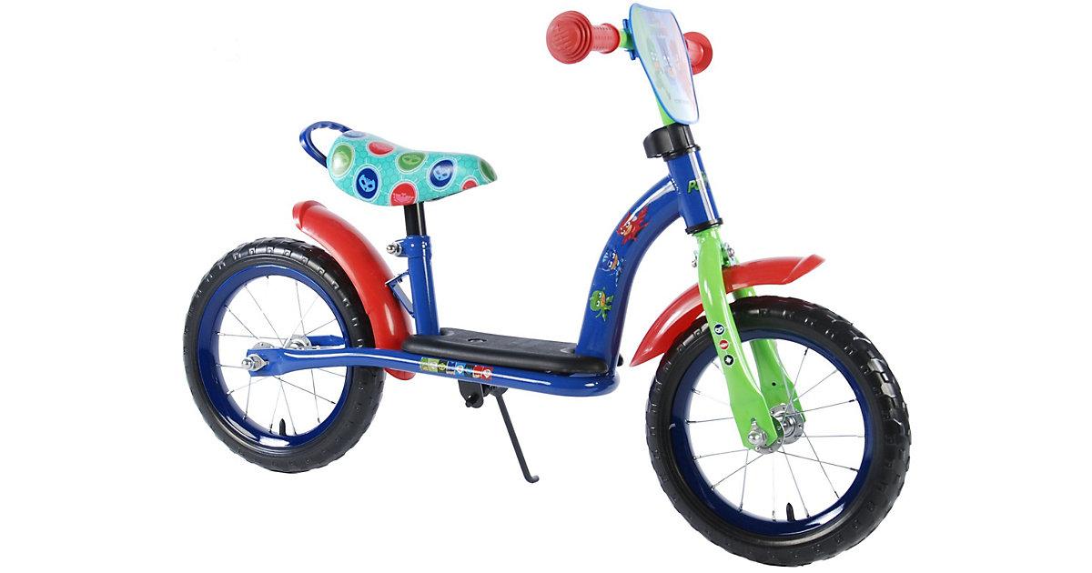 Kinderlaufrad - Jungen - 12 Zoll - Blau/Rot - Deluxe blau