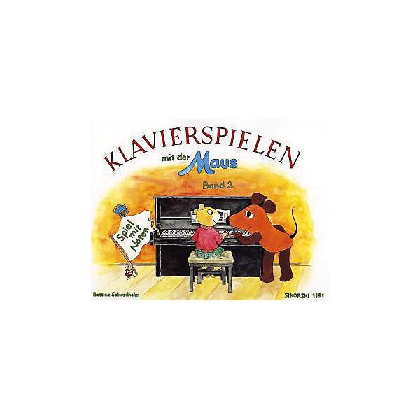 Klavierspielen mit der Maus: Band 2, Spiel mit Noten, Bettina Schwedhelm