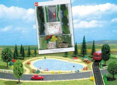 Busch Modelleisenbahn Geländebau-Starter-Kit - Spur H0