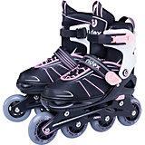 Ролики раздвижные Ridex Halo Pink